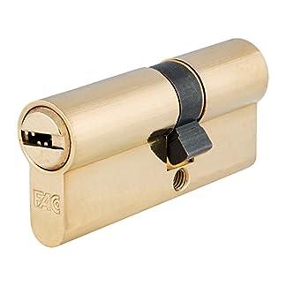 FAC 3014205 Cilindro Seguridad 70-p 30×40 Latonado 15,0mm