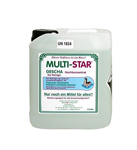 Multi-Star Gescha Hochkonzentrat 5 Liter Gebinde ohne Mischkanister