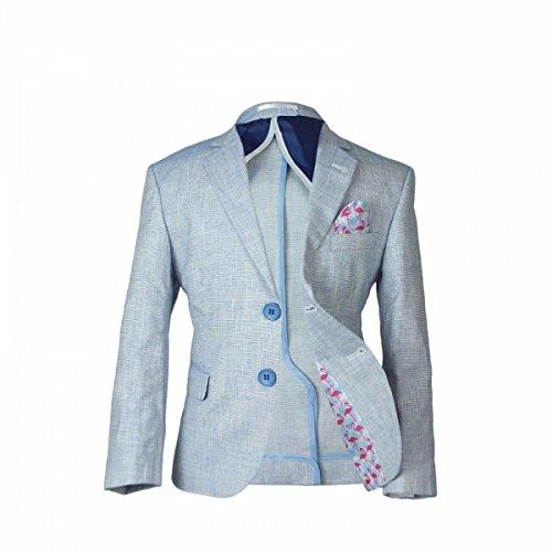 Jungen Leinen Casual Anzüge Seite Junge Kinder Sommer Outfit Junge Formale Anzug Junge Multi Farbe Leinen Anzug (Casual Leinen-anzug)