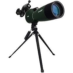 Svbony SV-28 Longue-Vue Téléscope Prisme BAK-4 Zoom HD Spotting Scope d'Observation des Oiseaux (25-75x70)