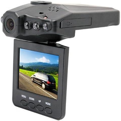 e6b-hd 8GB Portable DVR con 2.5TFT Pantalla LCD de copia de seguridad de vehículo Car cámaras LCD 270° lsrotator–6IR LED Cámara Grabadora De Vídeo Digital