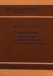 Scripta Latina (Studien zur klassischen Philologie)