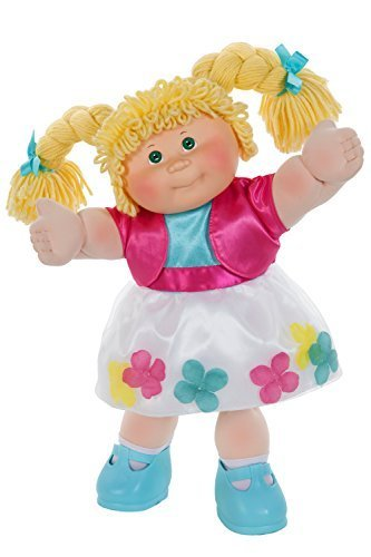 cabbage-patch-kids-classic-16-inch-doll-with-flower-petal-dress-caucasian-girl-blonde-hair-green-eye