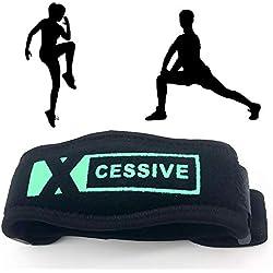 XCESSIVE Tennisarm Bandage Ellbogen Manschette Epicondylitis-Spange aus hochwertigem Neopren mit stoßabsorbierendem Gelpad