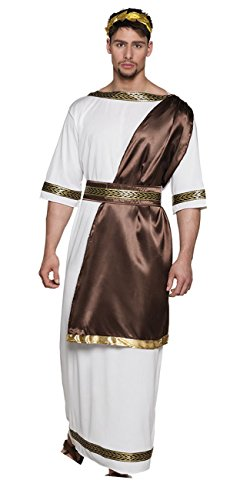 Boland 83861 Erwachsenen Kostüm Zeus, mens, M/L (Antike Griechische Kostüm Männer)