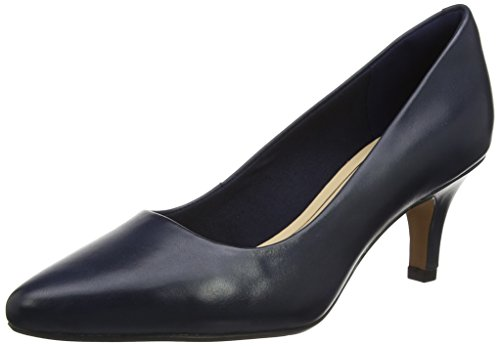Clarks Damen isidora Faye Pumps, Blau (Navy Leather), 38 EU
