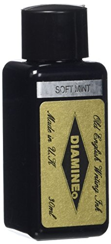 Diamine - Füllhalter-Tinte, Soft Mint 30ml (Tinte Mint)