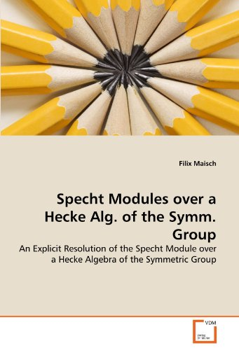 Specht Modules over a Hecke Alg. of the Symm. Group: An Explicit Resolution of the Specht Module over a Hecke Algebra of the Symmetric Group