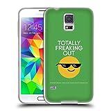 Head Case Designs Offizielle David Olenick Farbige Gefrorene Gläser Gefühle Soft Gel Hülle für Samsung Galaxy S5 / S5 Neo