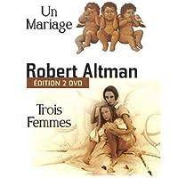 Coffret robert altman : un mariage / trois femmes