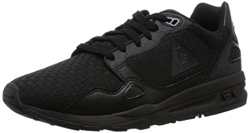 Le Coq Sportif Lcs R900 Woven Herren Sneaker Schwarz - Schwarz