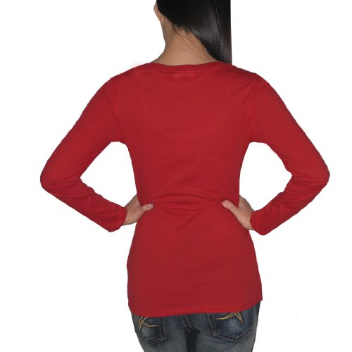 Pink Victoria's Secret Damen T-Shirt Rot - Rot