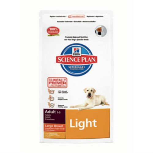 hills-science-plan-light-large-breed-adult-dog-food-with-chicken-12kg