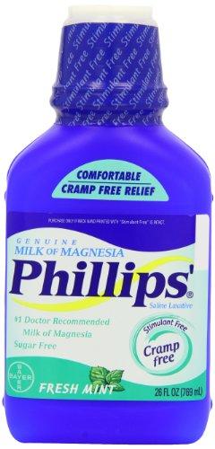 Philips - Phillips Phillips Du Lait De Magnésie Menthe Fraîche, Menthe Fraîche 26 Oz