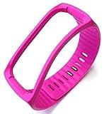 everything4less-uk Samsung Gear Fit Activity Tracker Handgelenk Band Armband mit Ersatz Verschluss (Pink)