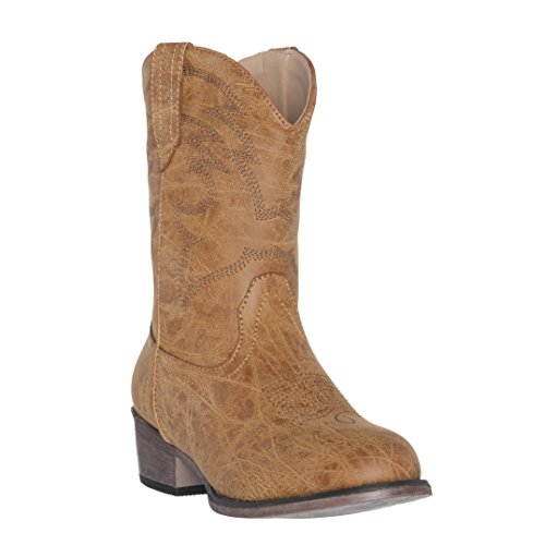 Silver Canyon Boot and Clothing Company Kinder West Kinder Cowboystiefel für Junge 10 M US kleine Kinder Bräune