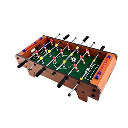 Aszhdfihas-toy Foosball Fußball Wettbewerb Tischplatte Set Puzzle Tischfußballmaschine Eltern-Kind Interaktion Spielzimmer Sport Mini Tischfußball Mit Beinen Familienspaß-Spiel