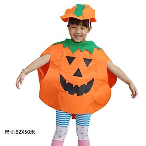 FENG Halloween Kinderkleidung Erwachsenen kürbiskostüm Kindergarten Leistung Zeigen, kürbis, Verkleidet Kinder kürbis,Ein