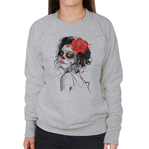 Cloud City 7 Dia De Los Muertos Day of The Dead Women's Sweatshirt