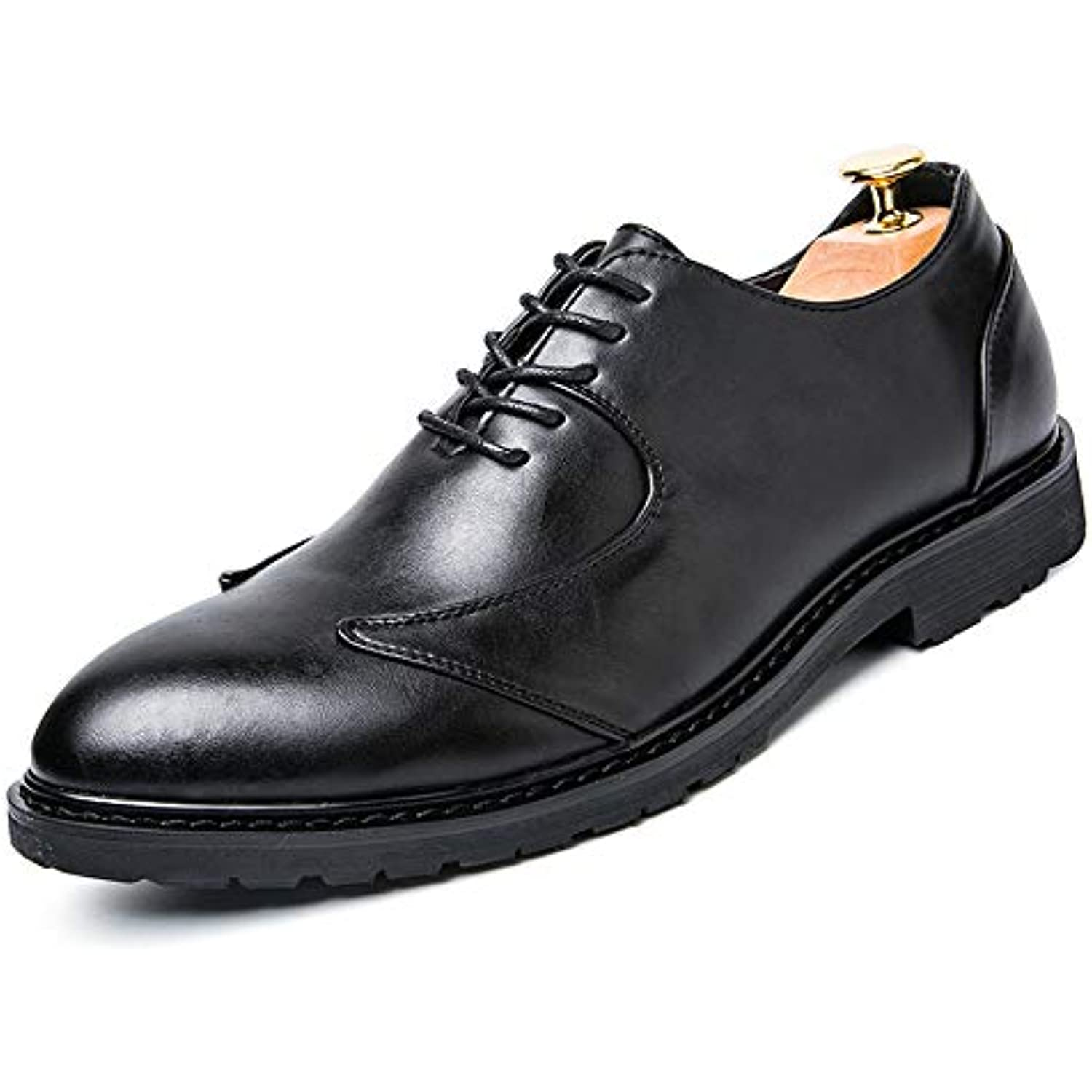 Ying xinguang Homme Oxford Business Casual Occasionnel Doux Respirant Retro Low Tip Retro Respirant Style bri - B07JZG32DD - 3978ca