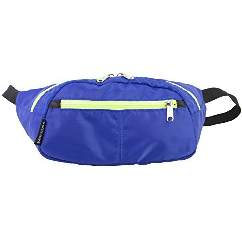 eastsport-absolute-sport-belt-bag-fanny-pack-blue-acid-yellow-by-eastsport