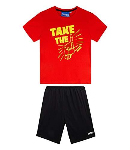 Fortnite 8843, Pijama para Niños, Rojo Rouge, 10 años
