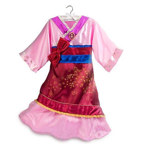 Mulan - Kostüm für Kinder Größe 5-6 - Mulan Kostüm Kind