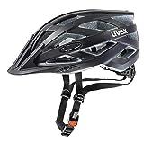 uvex Unisex- Erwachsene, i-vo cc Fahrradhelm, black mat, 56-60 cm