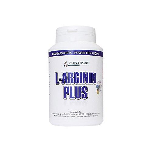 Arginin Plus Complex: L-Arginin & Citrullin & OPC & Taurin & Norvalin - Für ein gesundes Herz Gefäßfunktionen (80 Big Kapseln)
