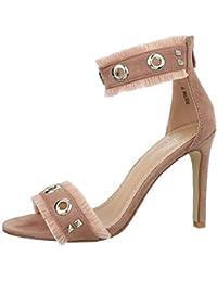 A4ljqc35r Amazon Sandalias De Para Mujer Vestir Zapatos Escremallera reCxBod