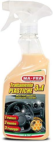 Ma-Fra, Trattamento 3in1 Plastiche, Pulisce, Ravviva e Protegge le Parti Interne dell'Auto, Creando una Ba
