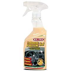 Idea Regalo - Mafra, Trattamento 3in1 Plastiche, Pulisce, Ravviva e Protegge le Parti Interne dell'Auto, Creando una Barriera Anti Raggi UV, Formato 500ml