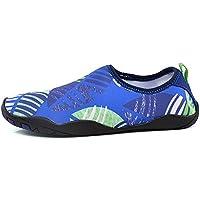 Athyior Aqua Shoes Hombres Mujer Zapatos de Agua Zapatillas Chanclas Ligeros Escarpines de Secado Rápido Antideslizante para Nadando Playa Surf Yoga Snorkel
