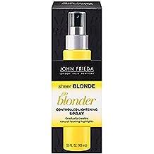 John Frieda Sheer Blonde - Spray éclaircissant pour cheveux blonds uniquement - Le spray de 100ml