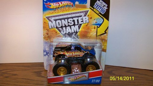 Hot Wheels Monster Jam Tattoo Series Hot Wheels Truck 1/64 Scale #37/80 by hotwheels (English Manual) (Hot Wheels Tattoos)