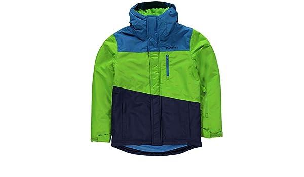 b98b2dd70 Campri Patterned Ski Jacket Junior Boys Blue Snow Coat Tops ...