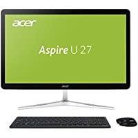 Acer Aspire U27-880 All-In-One Desktop-PC (Intel Core i5-7200U, 8GB RAM, 256GB PCIe SSD, Intel HD, Win 10 Home) schwarz/silber