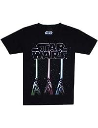 ed205594a57 STAR WARS Lightsabers Camiseta para Niños