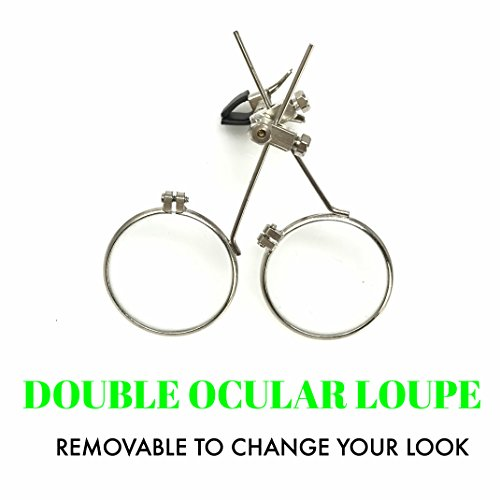 umbrellalaboratory Steampunk Victorian Style Goggles UV Glow in the Dark Rave Glasses with Vintage Features