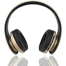 Auriculares Estéreo Inalámbricos Bluetooth, Fetta 4 En 1 Auriculares Bluetooth Mejora Con Tarjeta De Soporte