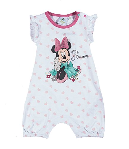 Disney Minnie Babies Baby overall - white