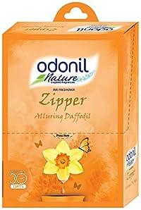 Odonil Airfreshener Zipper Alluring Daffodil - 10 g (Pack of 6)