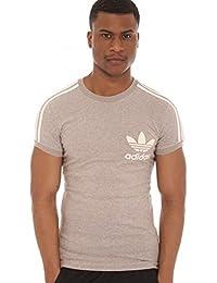 Adidas Originals - T-shirt - 3 Stripe - Gris