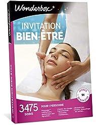 Wonderbox - Coffret cadeau de noël - INVITATION AU BIEN ETRE – 3475 soins du visage, gommage aux agrumes, beautés des mains, accès au spa pour 1 personne