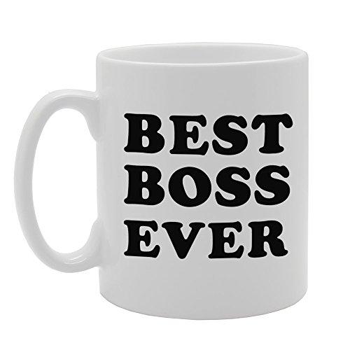 mg808regalo mejor Jefe nunca impreso té café taza de cerámica
