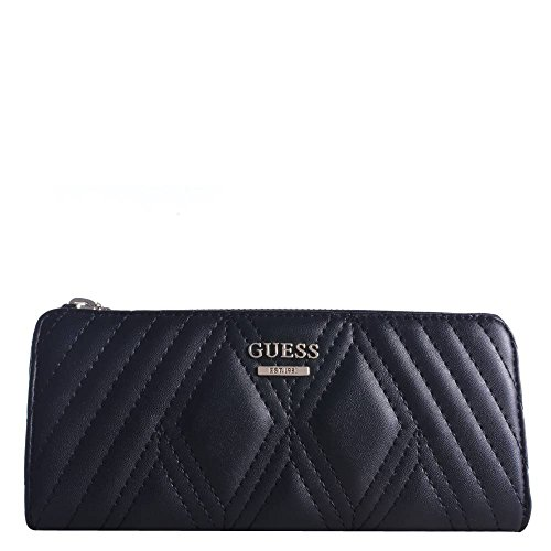 Guess Geldbörse Shea Slim Zip Wallet 56 SWVG6412520 Black BLA Damen Börse (Slim Zip Wallet)