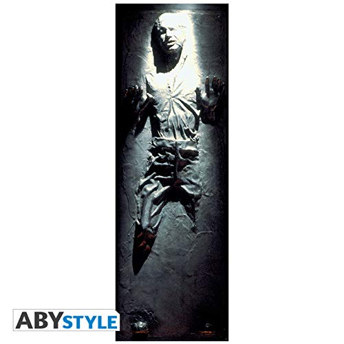 ABYstyle Abysse Corp _ abydco452Star Wars–Türposter–Han Solo (53x 158)