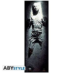 ABYstyle Abysse Corp_ABYDCO452 Star Wars - Póster para Puerta de Han Solo (53 x 158)