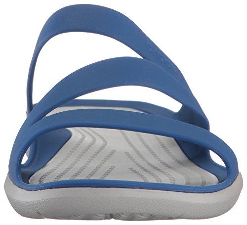 Crocs - Swiftwater Sandale Femmes Blue Jean/Pearl White