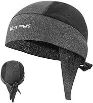 قبعة صغيرة للرجال لركوب الدراجات والصيد والدراجة البخارية من Sweat wicking Doo Dew Rags